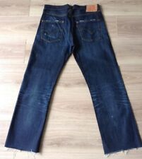 LEVI'S 501 XX JEANS BIG E REDLINE SELVEDGE SIZE 32 X 32 UNHEMMED SEE PHOTO