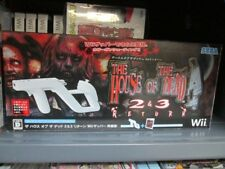 House of the Dead 2 & 3 Return + Zapper (2008) New Factory Boxed Japan Wii