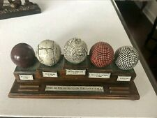 The Development Of The Golf Ball Collectible Plaque