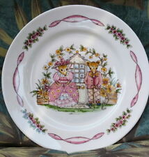 "Hammersley Bone China MAISIE MOUSE Small 6 1/4"" PLATE Made in England NICE MICE!"