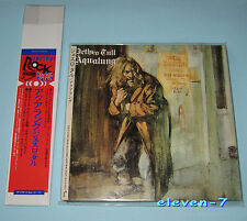 JETHRO TULL Aqualung Japan mini LP CD FOC + Promo OBI