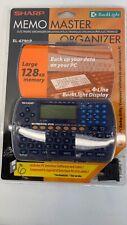 Vintage Sharp Memo Master Electronic Handheld Organizer EL-6790P
