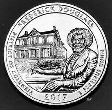 2017 P MINT - FREDERICK DOUGLAS NTL HIST SITE (DC) QUARTER UNCIRCULATED CLAD