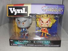 Funko Vynl. Thundercats Panthro & Cheetara Figures-New