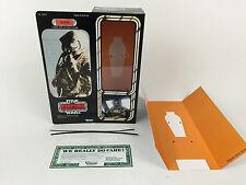 "custom vintage Star wars esb 12"" 4-lom bounty hunter box + inserts"