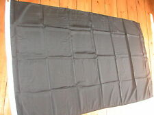 PLAIN BLACK FLAG 3'X2' POST FREE IN UK