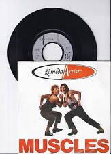 "Komeda Artist, Muscles, VG/VG+ 7"" Single 0975-3"