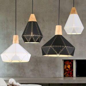 Modern Pendant Light Bar Lights Room Ceiling Lamp Home Wood Chandelier Lighting