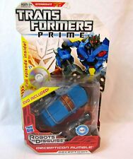 Transformers Prime Robots in Disguise RID Deluxe Class DECEPTICON RUMBLE NEW