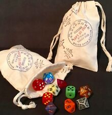 Firefly Serenity Inspired Persephone Customs Game Dice Props Favors Bag 1 piece
