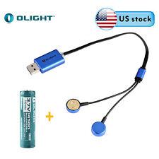 Olight UC Universal Magnetic USB Charger w/ 1PC 14500 750mAh Battery