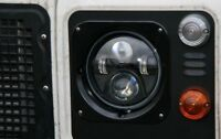 """LED Headlights Land Rover Defender 90 110 RHD + LHD E MARKED 7"""" Inch H4"""