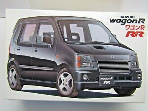 Fujimi 1:24 Scale Suzuki Wagon R RR Model Kit - New - Kit # 1500.1/24.03463