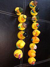 Lot of 15 Rubber Ducks - Assortment Bath Toys Yellow Lot 4