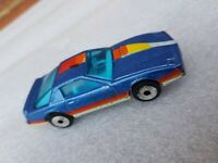 Matchbox Superfast 51e Pontiac Firebird SE - Blue - Starburst Wheels 1982