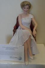 Franklin Mint Princess Diana Doll SHEER ENCHANTMENT Portrait Of A Princess COA!