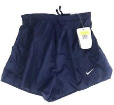 Nike Athletic Running Shorts Womens Size Small Navy Blue 100% Polyester New