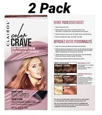 Clairol Color Crave Semi-permanent Color 2 Pack-Rose Gold