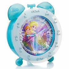 Disney Frozen Time Teacher Analogue Clock FROZ1