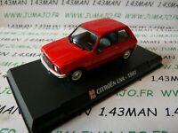 AP32N Voiture 1/43 IXO AUTO PLUS : LNA 1981 rouge