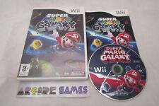 SUPER MARIO GALAXY Wii COMPLET CARTE VIP NON GRATTEE (envoi suivi, vendeur pro)