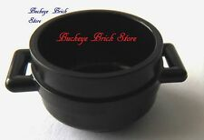 NEW Lego Minifig BLACK CAULDRON Boy/Girl Witch Potter Cook Kitchen Pan Food Dish