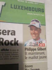 PHILIPPE GILBERT : GAGNE LIEGE BASTOGNE LIEGE - 26/04/2011