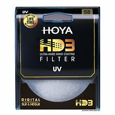 Hoya 58mm HD3 32-Layers Coating UV (Ultra Violet) Filter. U.S Authorized Dealer