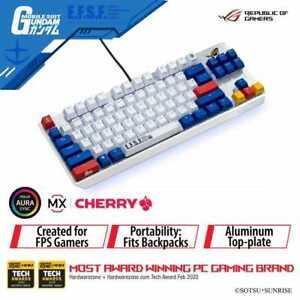 ASUS ROG Strix Scope TKL Gundam Edition Wired Mechanical Gaming Keyboard