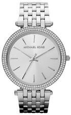 NEW Michael Kors MK3190 Darci Silver Tone Dial Pave Ladies Wrist Watch