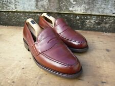 JOSEPH CHEANEY LOAFERS – BROWN / TAN  – UK 8 – HOWARD R – EXCELLENT CONDITION