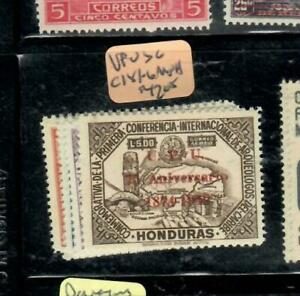 HONDURAS  AIR MAIL STAMPS (P3107BB)   UPU  SC C181-6    MNH