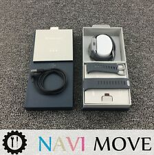 New Fitbit IONIC Smartwatch Charcoal/Smoke Gray One Size (S & L Bands Included)