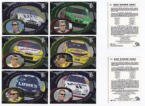 2001 Press Pass CUP CHASE  #CC12 Mike Skinner BV$4!  (not redeemed!)