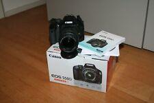 Camera Canon EOS 550D Reflex Digital + Objective 18-55 Is + Box