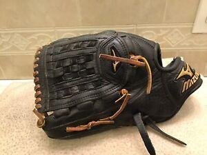 """Mizuno GMVP-1202 12"""" Baseball Softball Glove Left Hand Throw"""