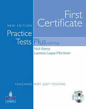 Longman First Certificate Practice Tests Plus FCE with Key & iTests CD-ROM @NEW@