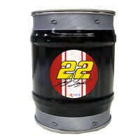 NASCAR #22 Joey Logano Tin Bank-NASCAR Coin Bank-NEW for 2016!