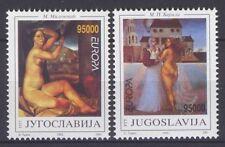 YUGOSLAVIA, EUROPA CEPT 1993, CONTEMPORARY ART, MNH