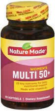 Nature Made Women's Multivitamin 50+ Softgels 60 Count