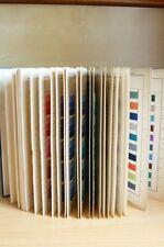 BASF Catalogue 290 ECHANTILLONS de Colorants sur filés de COTON Teinture Tissu