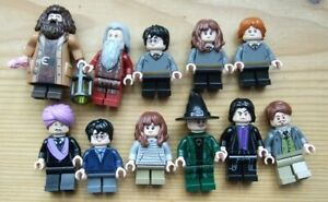 NEW HARRY POTTER  LEGO MINIFIGURES FREE POSTAGE TO UK from sets 2018 onwards