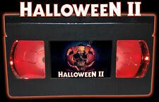 Halloween II (1981) - Retro VHS Lamp +Remote Control - 70s 80s Horror Movie