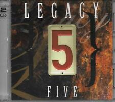 "LEGACY FIVE.......""5"".......""TWO CD DISC SET"".......BRAND NEW SEALED GOSPEL CD'S"