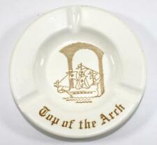 Vintage Top of the Arch Advertising Ashtray ~ Royal China ~ Made in USA