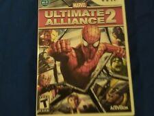 Marvel: Ultimate Alliance 2 (Nintendo Wii, 2009) CIB TESTED