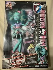 Monster High Frights Camera Action Honey Swamp Doll  New In Box