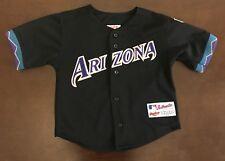 179f12b811b Vintage Rawlings MLB Arizona Diamondbacks Baseball Jersey Kids 5 6