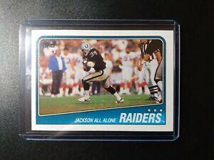 1988 topps Bo Jackson LA Raiders Rookie Card RC #325