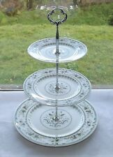 Royal Doulton England Porcelain Provencal TC1034 Three Tier Cake Stand